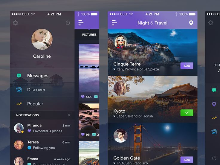 Download Night&Travel – New Screens