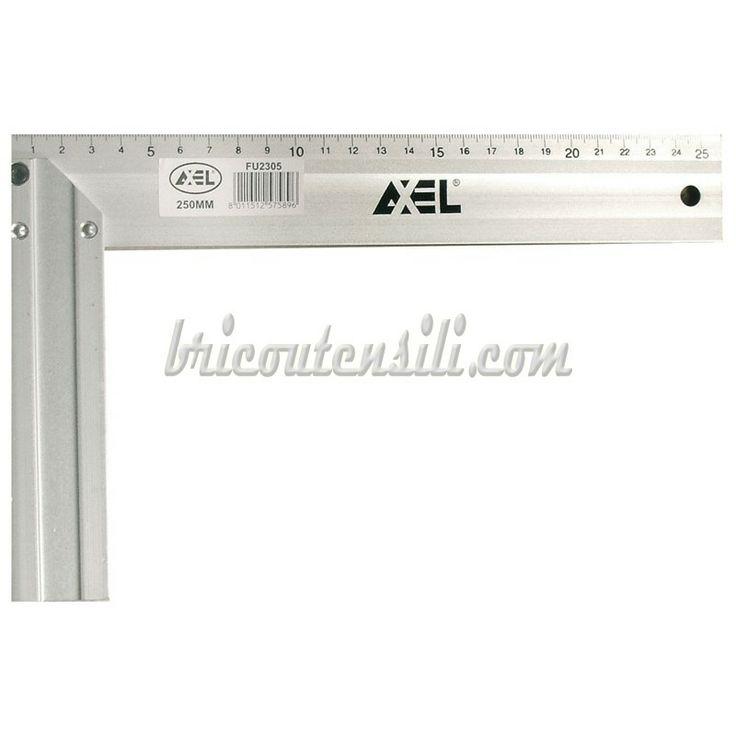 Squadra Falegname in Alluminio 400 mm, professionale.