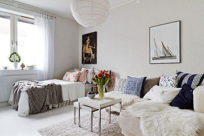 Bilder, Vardagsrum, Säng, Kudde - Hemnet Inspiration