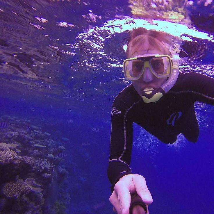 Eilen snorklausta ja ensimmäinen laitesukellus tänään tien päälle ja kohti etelää :) #greatbarrierreef #australia #snorkling by lejannes http://ift.tt/1UokkV2