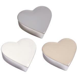 Perugia enamelled heart box