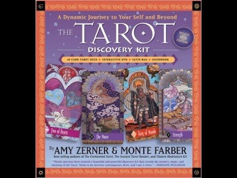 TAROT Discovery Kit by Monte Farber and Amy Zerner: a card-by-card feature by Tarot Zamm. Unwrap the box, venture within, and find the answers you seek. The ...