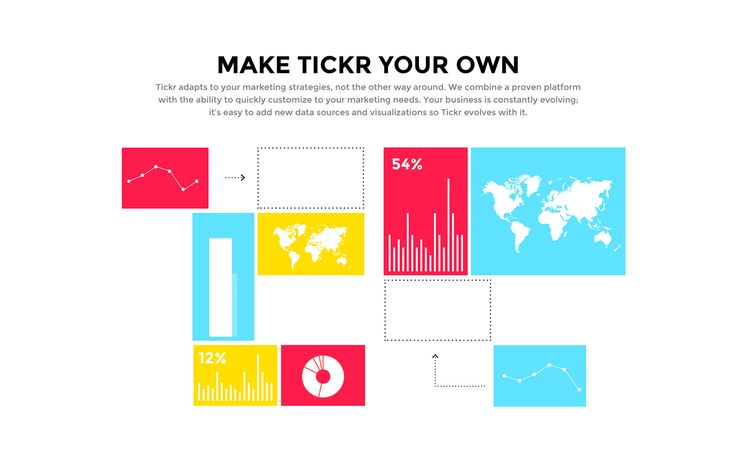 Tickr 2.0 on Behance