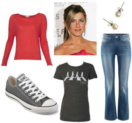 Rachel Green from Friends outfit 5