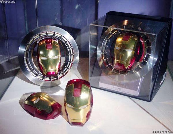 Iron Man ganha mouse oficial com o formato de sua máscara, mas infelizmente sem reator Arc