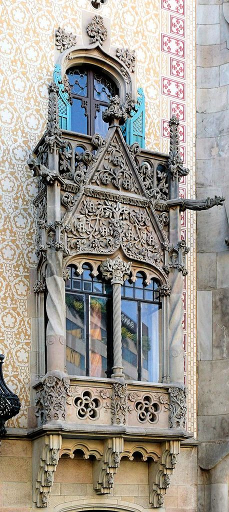 https://flic.kr/p/dxYdCp | Barcelona - Pg. de Gràcia 041 12 | Casa Amatller  1901  Architect: Josep Puig i Cadafalch