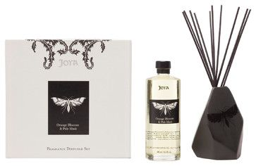 Orange Blossom and Pale Musk Diffuser Set eclectic home fragrance