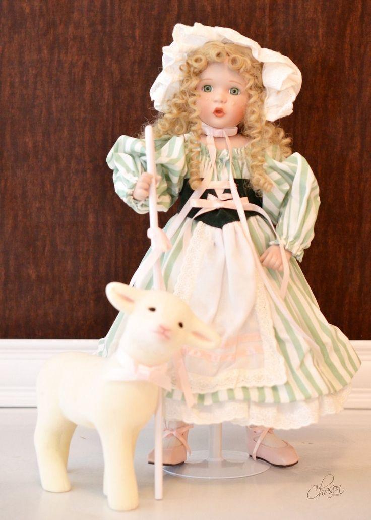 Ashton Drake Wendy Lawton Little Bo Peep Doll Dolls