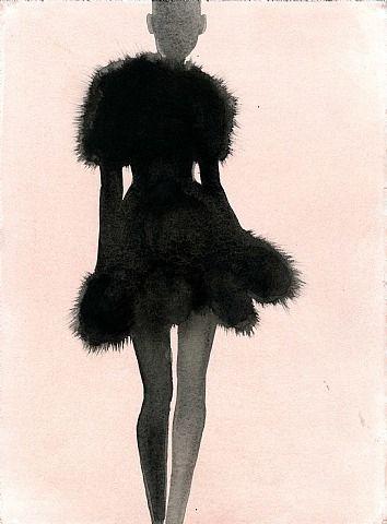 Mats Gustafson, Azzedine Alaia short dress (fur) for Rodeo Magazine Sweden