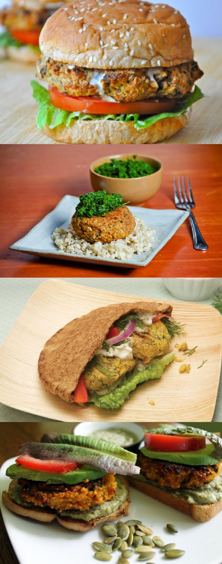 http://onegr.pl/18Km5eL #vegan #vegetarian #healthy #homemade #diy #veggie #burgers #tips #howto #food