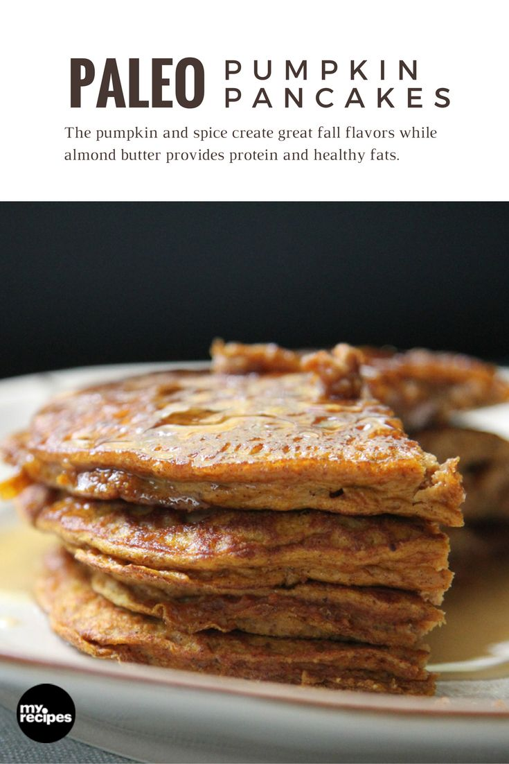 Paleo Pumpkin Pancakes | MyRecipes Calling all pumpkin lovers, these pancakes are for you!