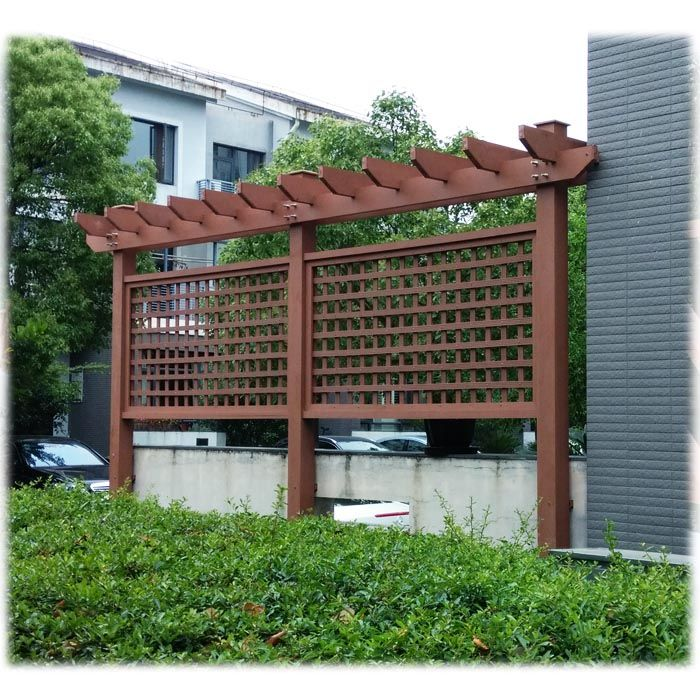 Material For Outdoor Furniture Part - 36: Pergola Composite Material In Play Area