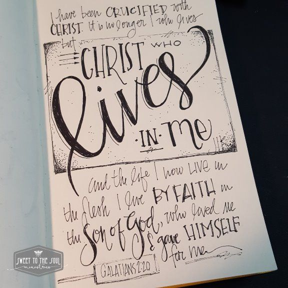 28 Best 30 Days Of Bible Lettering Images On Pinterest