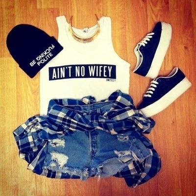 #Swag #ideas #outfits possibly use beanie hat?