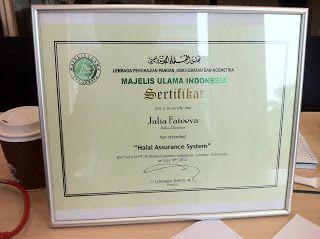 Menjelang sertifikat Halal dari MUI untuk Oriflame