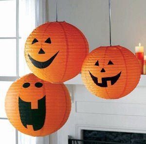 Lamparas de Papel Para Halloween2