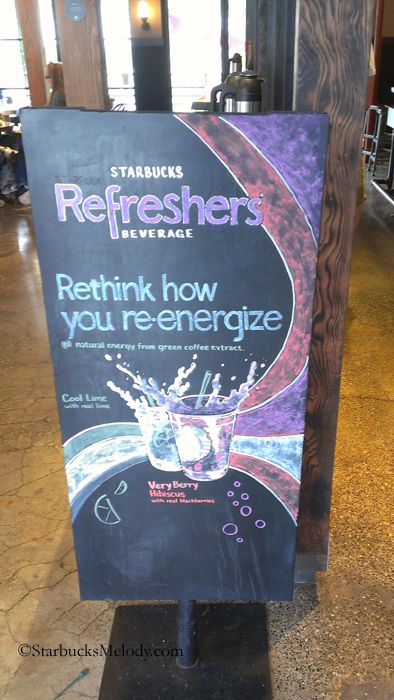 2 - 7 - IMAG2177 Refreshers chalk art photo taken 28 July 2012 Olive Way Starbucks