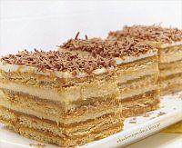 Ciasto z masą serowo-krówkową i jabłkami na herbatnikach(bez pieczenia)