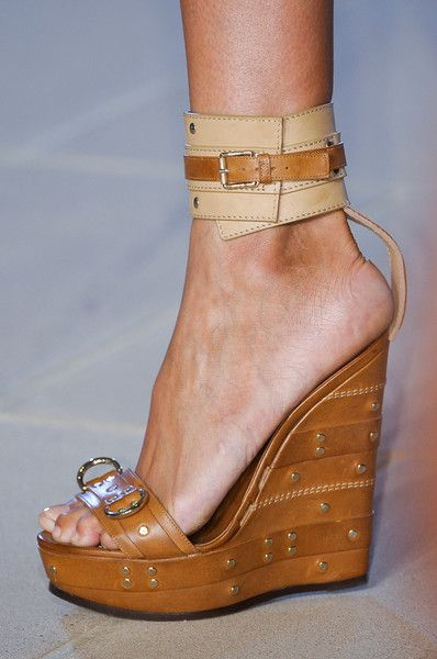 Spring/ Summer 2013 Shoe Trends - Lace and Buckles