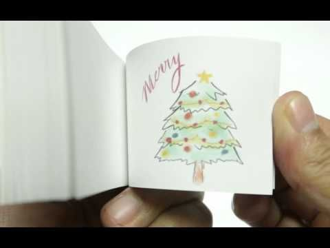 Christmas Tree Flip Book - YouTube