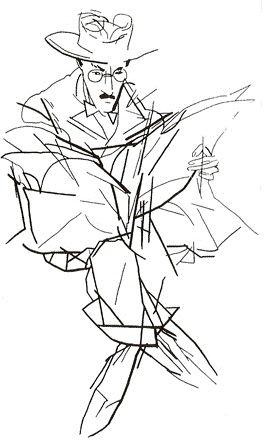 Um Fernando Pessoa - sítio com informação variada sobre o autor (Fernando Pessoa por Júlio Pomar).