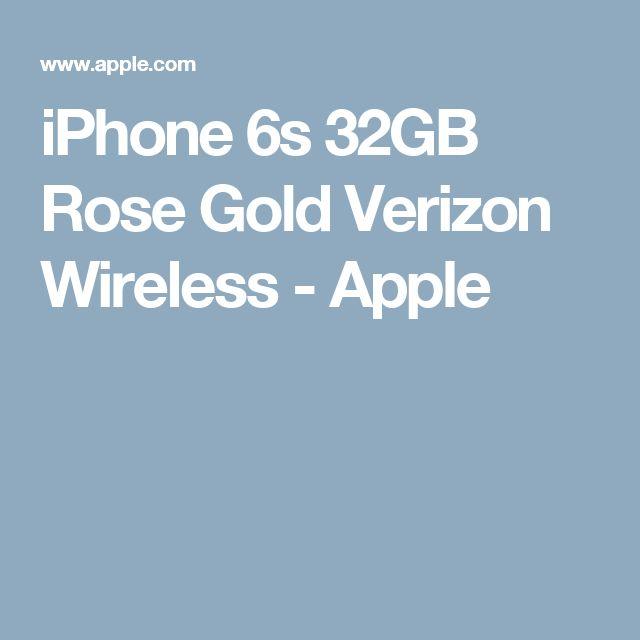 iPhone 6s 32GB Rose Gold Verizon Wireless - Apple