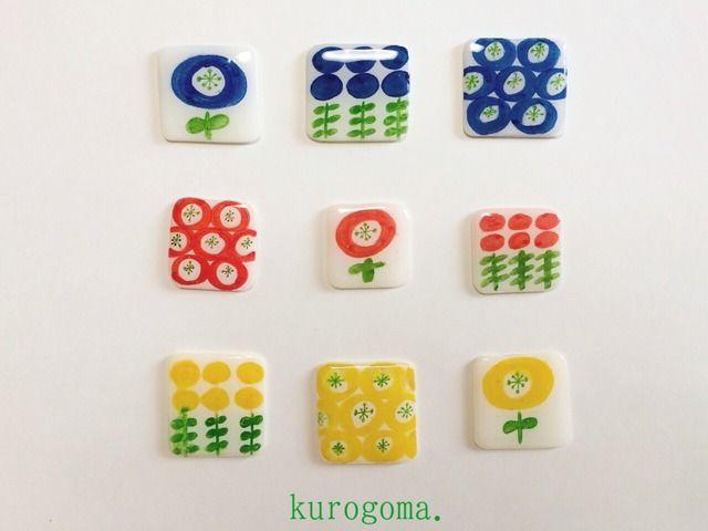 【new】お花のブローチ by kurogoma. アクセサリー コサージュ・ブローチminne