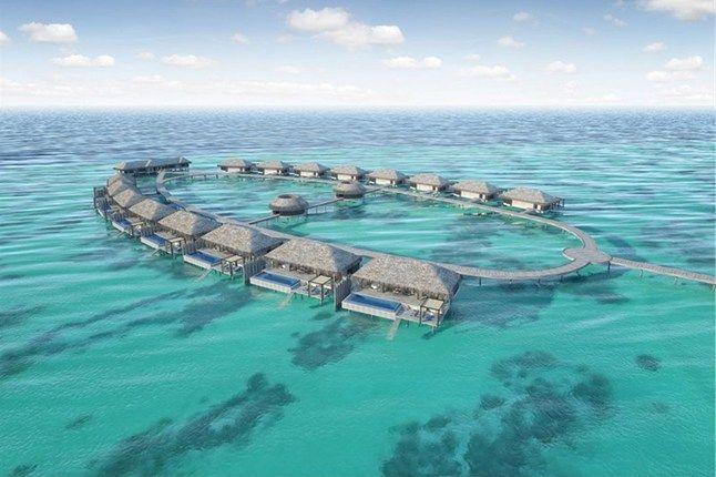 Velaa Private Island, Maldives | via cntraveller.com