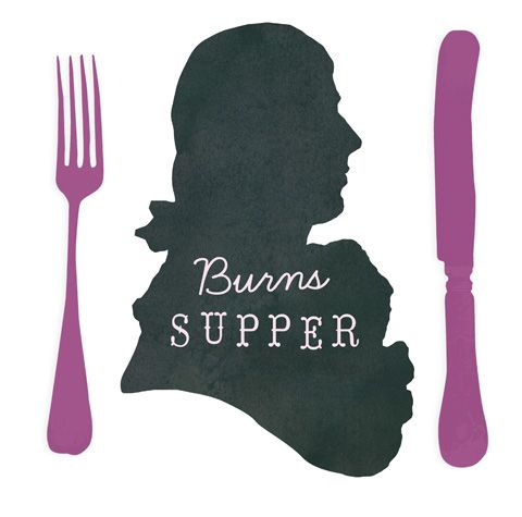 Robert Burns - A burns night supper - Happythought - Ellen Deakin & Harry Olden