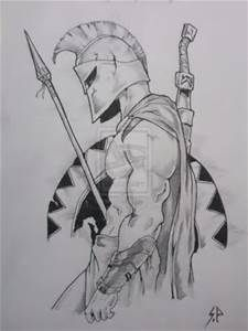 Spartan Warrior Drawings - Bing Images