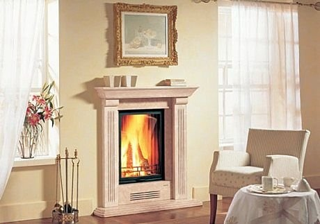 Great For A Small Space Amazing Fireplaces Pinterest Fireplaces Fire Surround And