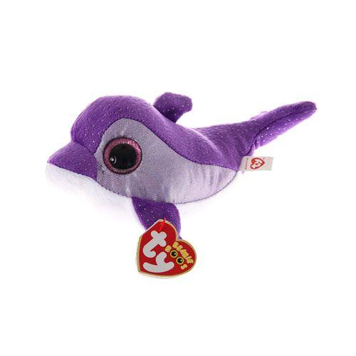 Medium TY Beanie Flips the Dolphin Soft Toy
