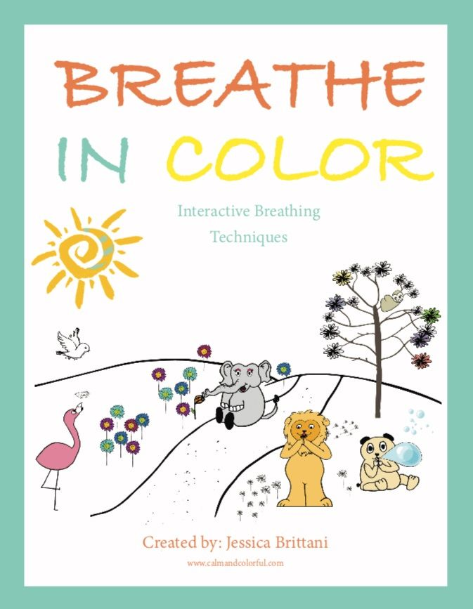 Interactive Coloring Book That Teaches Children Breathing Exercises  Teaching Kids, Color, Coloring Books