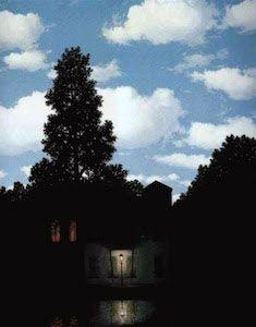 René Magritte - L'impero delle Luci, (1953-1954)