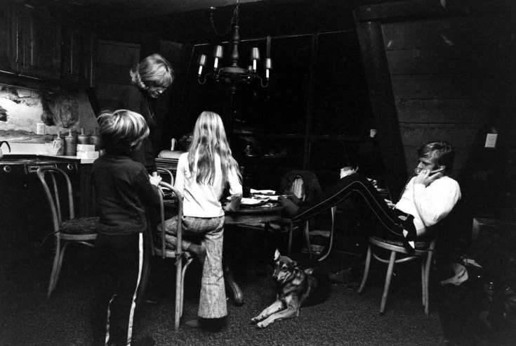 Redford 1969, Uiah w/Lola van Wagenen, Jamie & Shauna