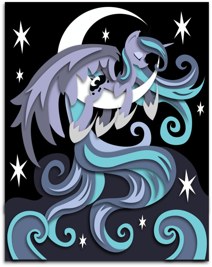 Luna by The-Paper-Pony