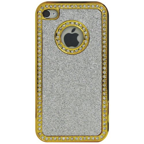 Exian iPhone 4/4S Case (4G081) - Silver                         - Web Only