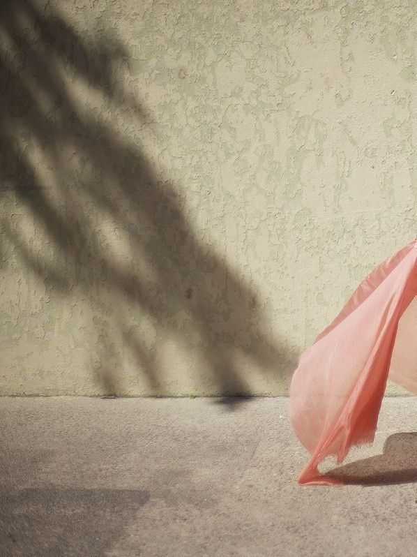 ✕ In the Summer winds… / #summer #pink #fabric