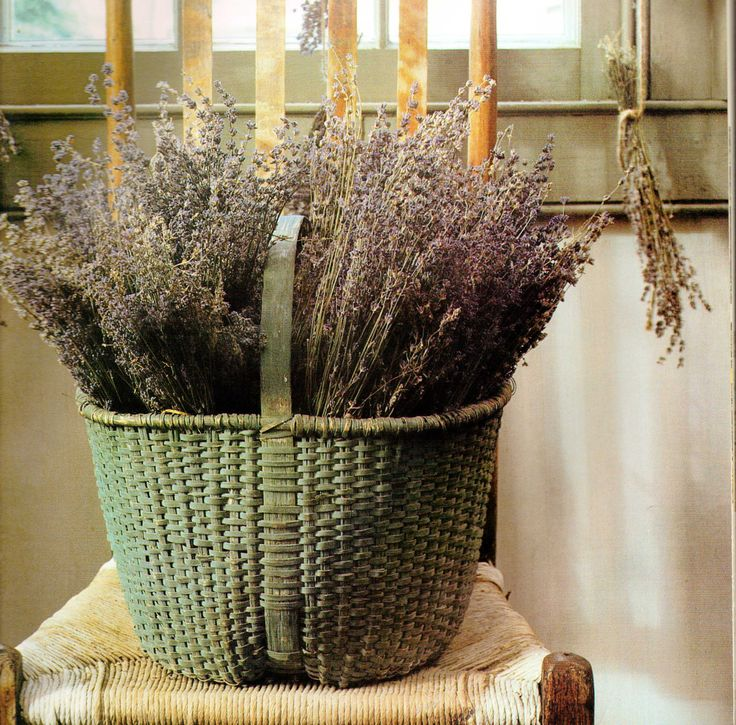 very nice basket & dried flowers.....
