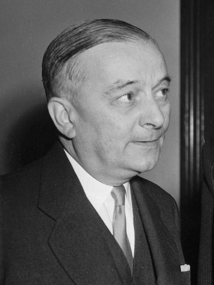 1946 Georges Bidault gouvernement provisoire du general de gaulle