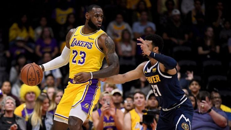 Lebron James Lost His Lakers Debut In Los Angeles Lakers Vs Denver Nuggets Net Sports 247 Los Angeles Lakers Lakers Vs Denver Nuggets