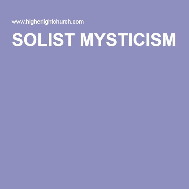 The website of Solist Mysticism. Avadar is the author of the website and my teacher. We have a difference of opinion on a few subjects but it is an informative website where I learned much of what of what I know today.