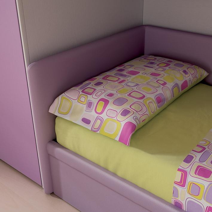 """#Arredamento #Cameretta Moretti Compact: Collezione 2012 """"Team"""" > Kids – Soluzione a #Soppalco >> ks25 #letto http://www.moretticompact.it/kids.htm"""