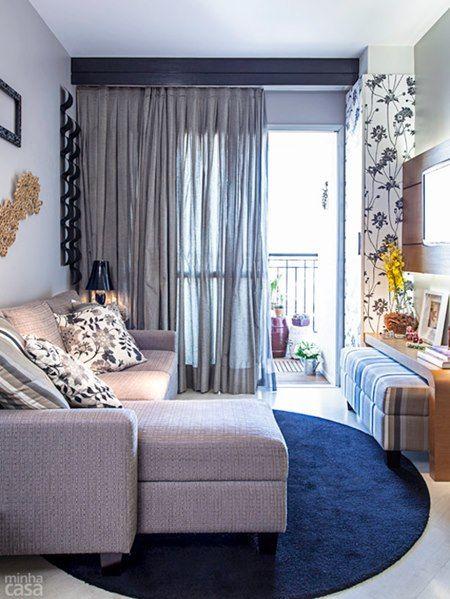 Sofa cama e pufe
