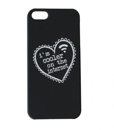 Cooler On The Internet iPhone 5 Cover