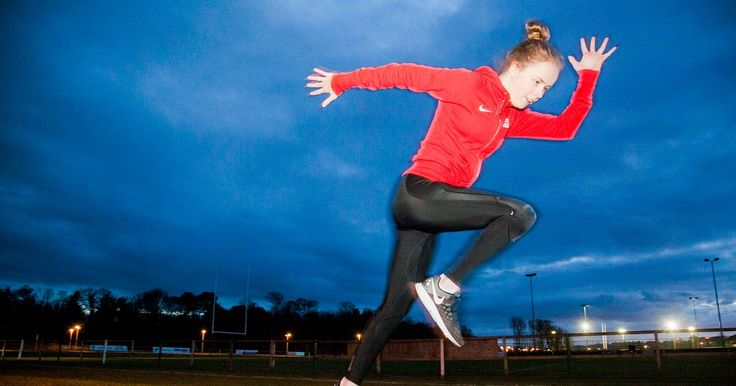 INSPIRATIONAL Maria has thrived in athletics despite living with diplegic cerebral palsy, and the Dunbar Grammar School student hopes for medal success in Rio.