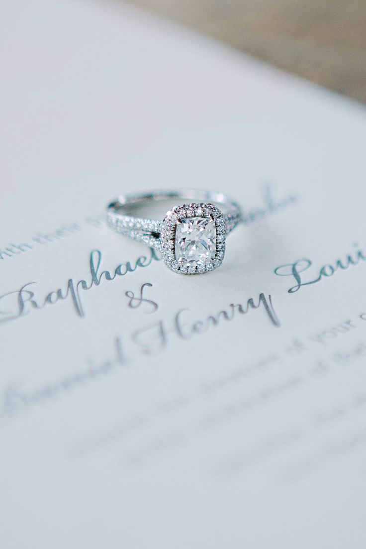#Engagement Ring LOVE | Tess Pace Photography | See the lucky bride who wears this ring on SMP --  http://www.stylemepretty.com/2013/12/11/romantic-colorado-wedding-at-devils-thumb-ranch/ Tess Pace Photography