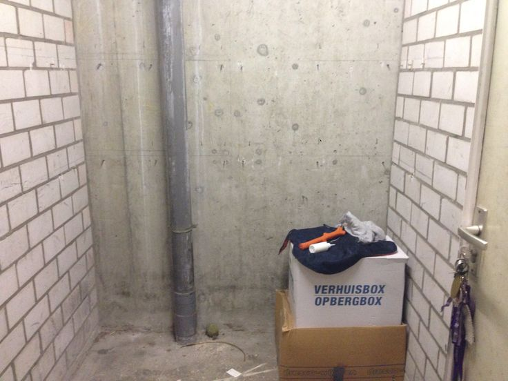 The #schuur #storageplace where I can leave my bike or other stuff I don't want in my house xD
