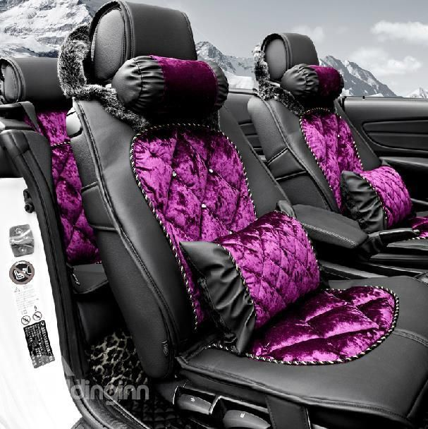 Hot Selling European Style PU Leather And Deluxe Fashion Seat Covers