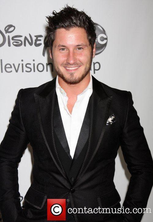 2012 TCA Summer Press Tour   Disney ABC Television Group Party Held At The  Beverly Hilton Hotel. Peta MurgatroydVal ChmerkovskiyBeverly ...